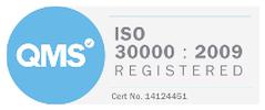 ISO 30000 Registered