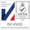ISO 45001 Registered