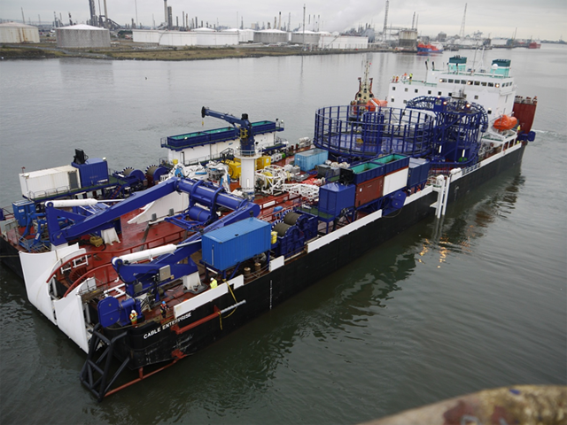 Global Marine Energy Cable Enterprise Vessel
