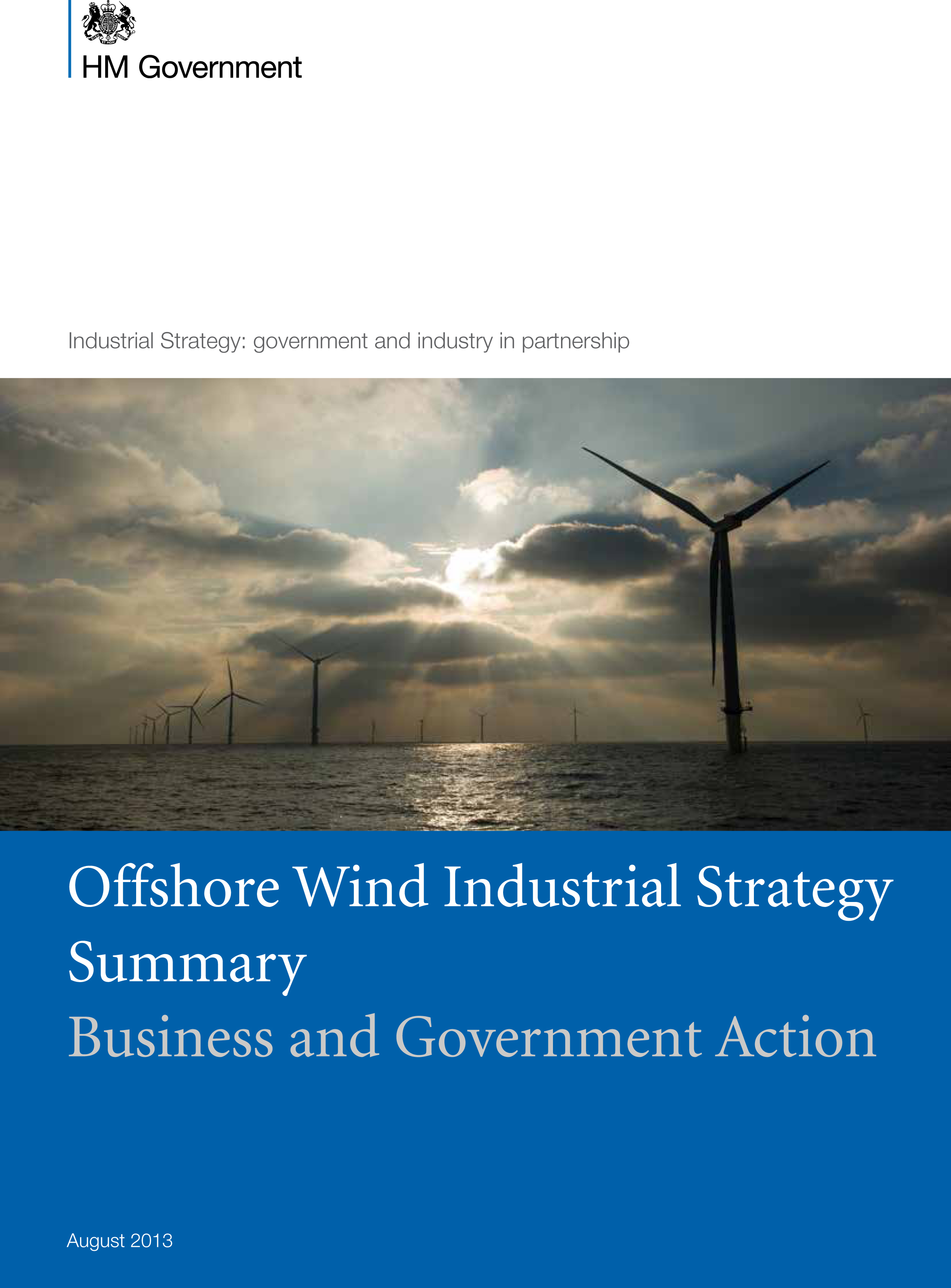 Government Offshore Wind Industrial Strategy Summary