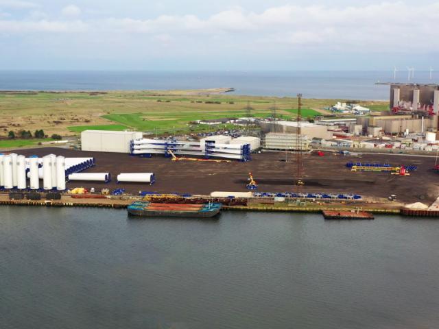 ASP Project Port for Triton Knoll Offshore Wind Farm taking shape! - November 2020