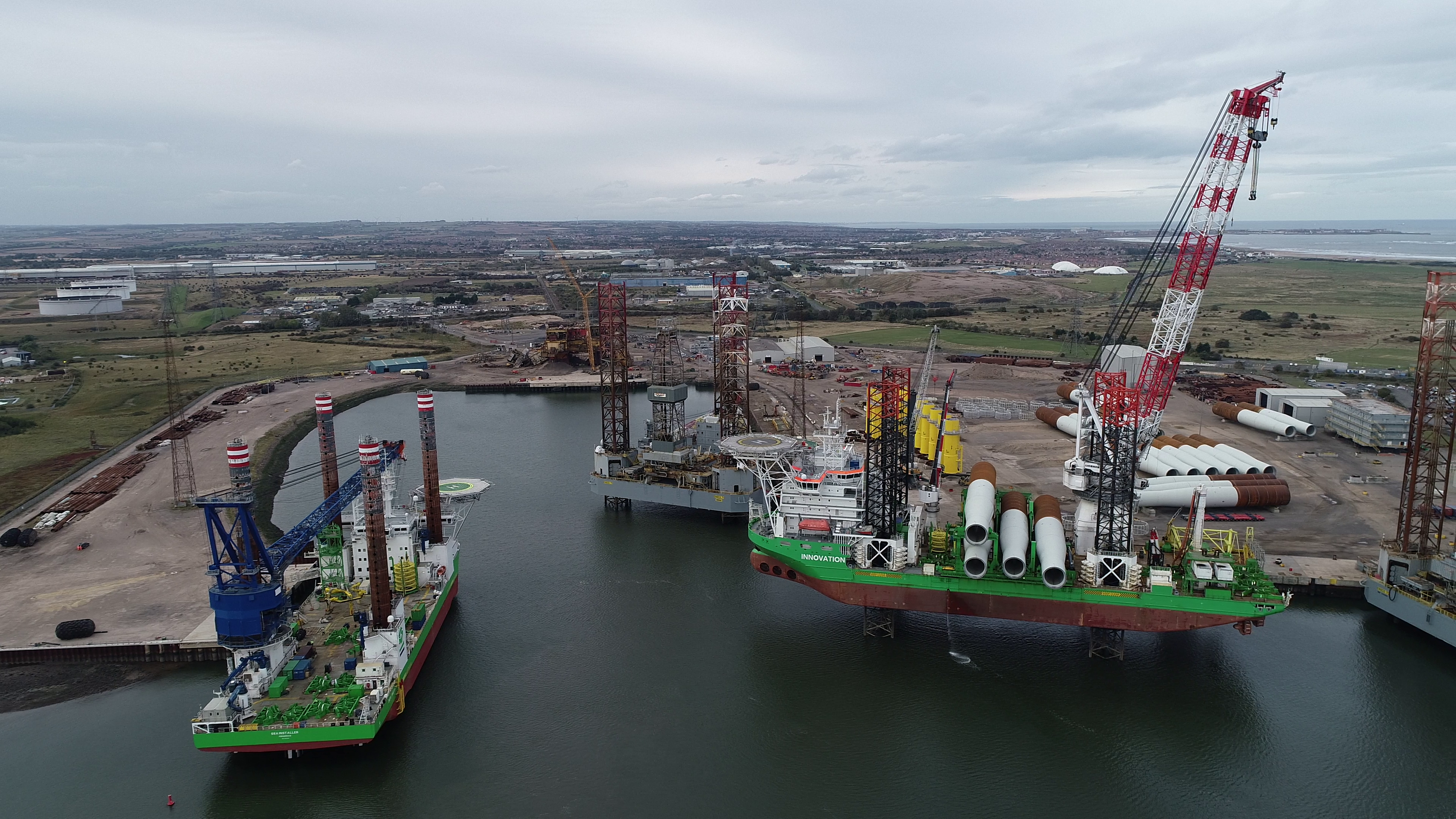 ASP - Hornsea Offshore Wind Farm Feeder Port 1st October 2018