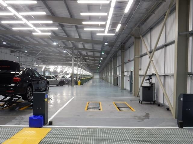 World Leading BMW PDI Facility at AHP - 20th November 2017