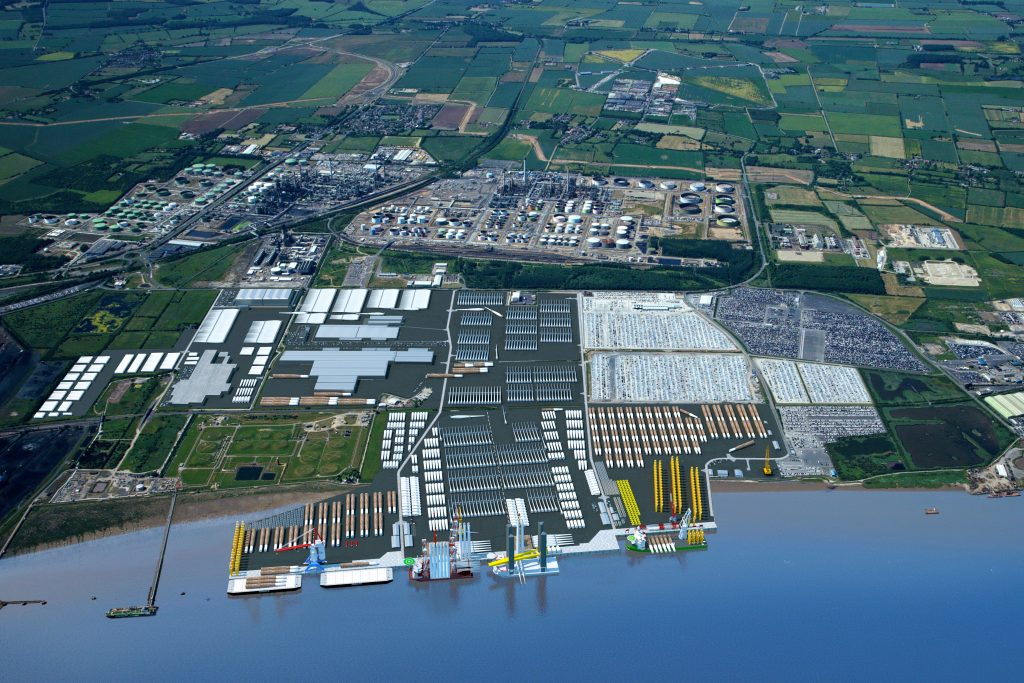 Visualisation of the planned Able Marine Energy Park